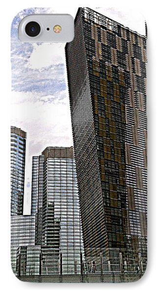 City Center At Las Vegas IPhone Case by Karen J Shine