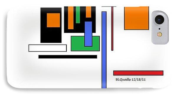 City Colors 2 Phone Case by B L Qualls