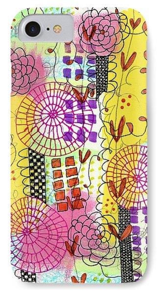 City Flower Garden IPhone Case by Lisa Noneman