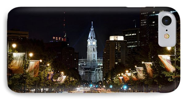 City Hall From The Parkway IPhone Case by Jennifer Ancker