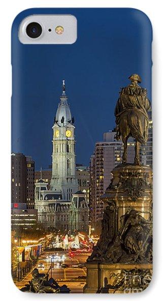 City Hall Philadelphia Phone Case by John Greim