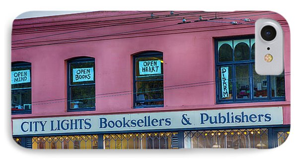 City Lights Booksellers IPhone Case by Garry Gay