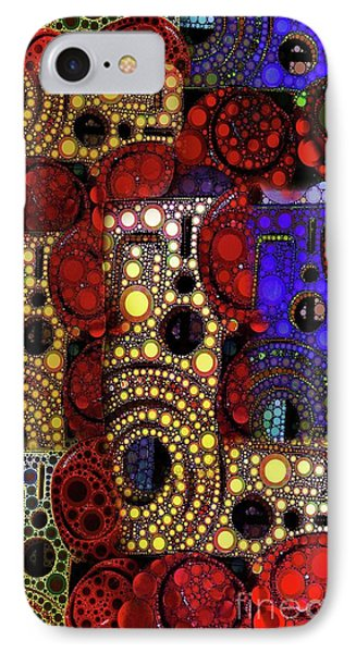City Lights IPhone Case by Ron Bissett