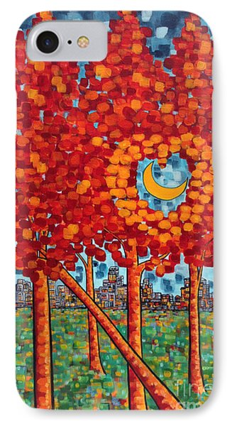 City Moonshine IPhone Case by Holly Carmichael