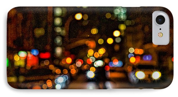City Nights, City Lights IPhone Case by Jeffrey Friedkin