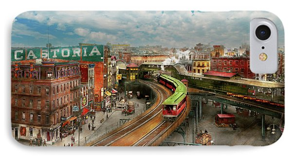 City - Ny - Chatham Square 1900 IPhone Case
