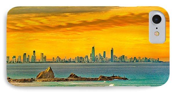 City Of Gold IPhone Case by Az Jackson