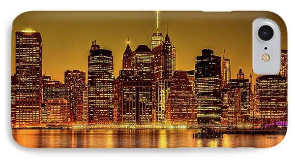 IPhone Case featuring the photograph City Of Gold by Chris Lord