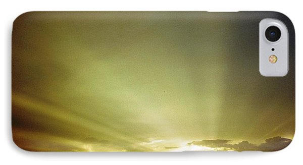 City Of Gold In The Sky IPhone Case by Belinda Lee