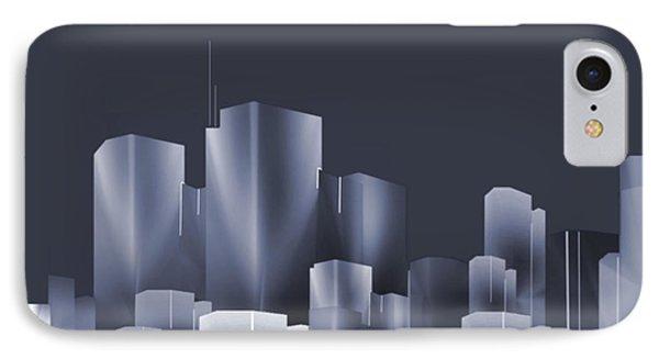 City Of Light 7 IPhone Case by John Krakora