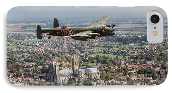 IPhone Case featuring the photograph City Of Lincoln Vn-t Over The City Of Lincoln by Gary Eason