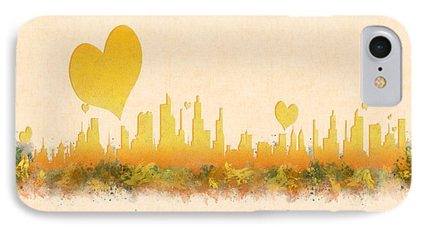 City Of Love IPhone Case by Anton Kalinichev
