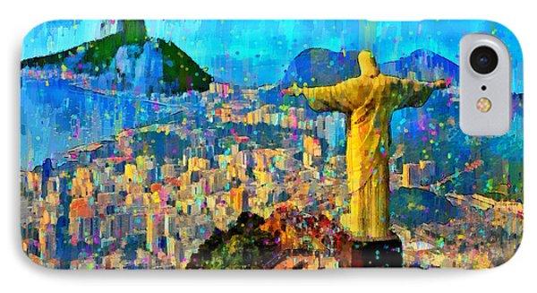 City Of Rio De Janeiro - Da IPhone Case by Leonardo Digenio