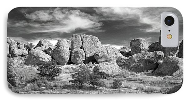 IPhone Case featuring the photograph City Of Rocks And Sky by Martin Konopacki