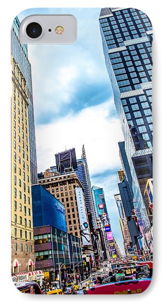 City Sights Nyc IPhone Case by Az Jackson