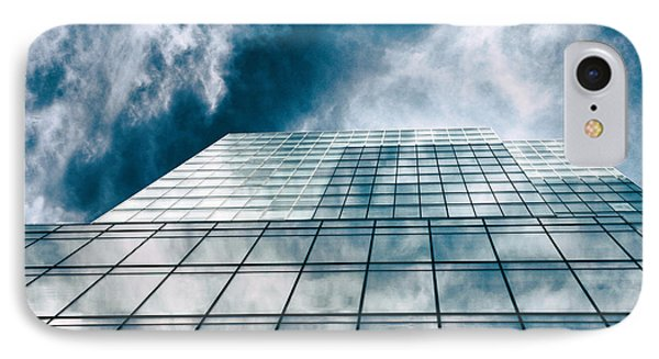 IPhone 7 Case featuring the photograph City Sky Light by Jessica Jenney