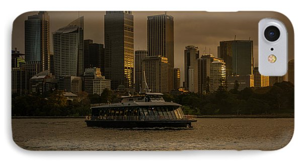 IPhone Case featuring the photograph City Skyline  by Andrew Matwijec