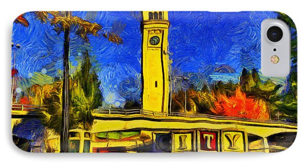 City Spokane - Riverfront Park IPhone Case by Mark Kiver