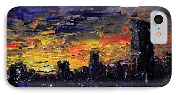 City Sunset IPhone Case