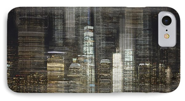 City Tetris IPhone Case