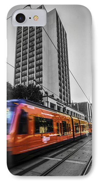 City Train IPhone Case by Phil Fitzgerald