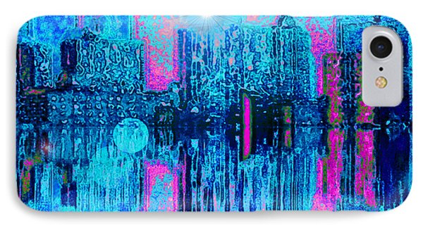 City Twilight IPhone Case by Holly Martinson