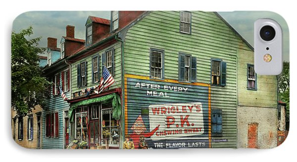 City- Va - C And G Grocery Store 1927 IPhone Case by Mike Savad