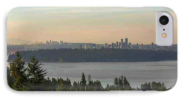 City View Of Vancouver And Burnaby Bc Phone Case by David Gn