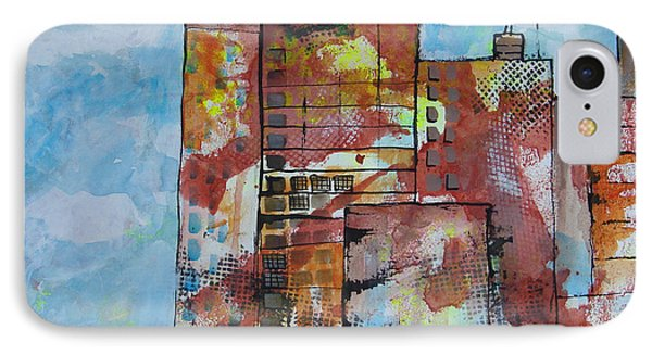 Cityscape 230 IPhone Case by Karin Husty