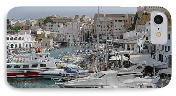 Ciutadella Marina Phone Case by Rod Johnson
