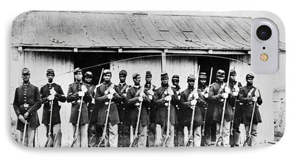 Civil War: Black Troops Phone Case by Granger