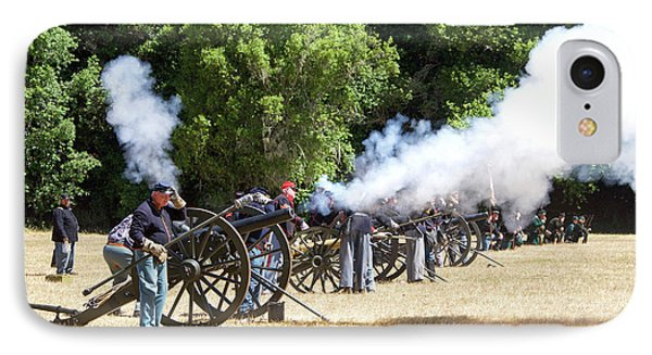 Civil War Days 06 IPhone Case