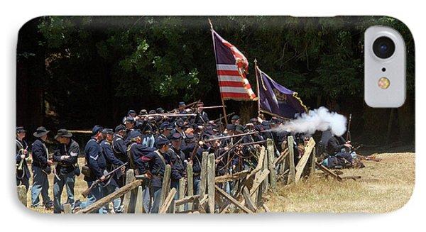 Civil War Days 07 IPhone Case
