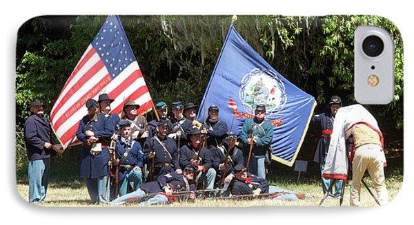 Civil War Days 7th West Virginia IPhone Case