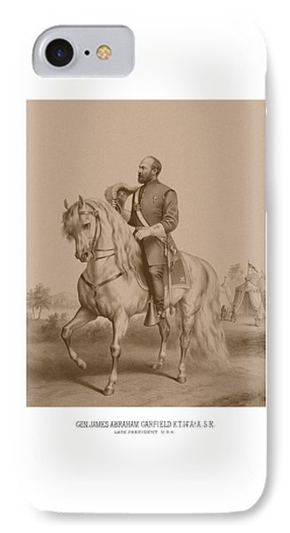 Civil War General James Garfield Phone Case by War Is Hell Store
