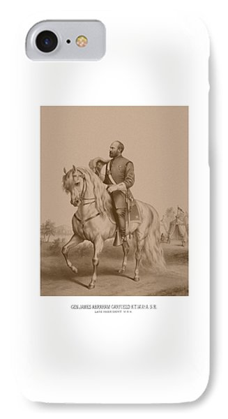 Civil War General James Garfield IPhone Case