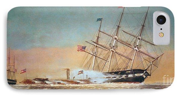 Civil War Merrimack 1862 Phone Case by Granger
