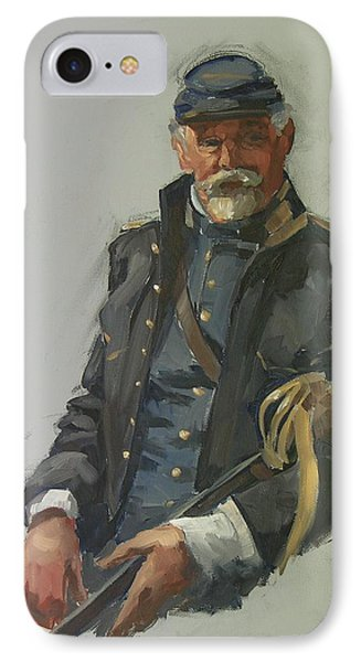Civil War Officer Phone Case by Mary McInnis
