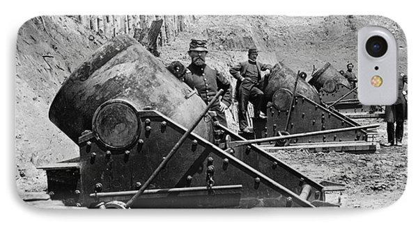 Civil War: Union Mortars IPhone Case