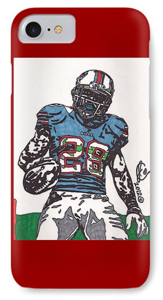 Cj Spiller 1 IPhone Case by Jeremiah Colley