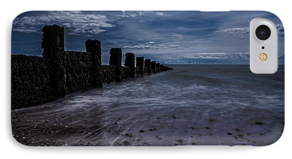 Clacton Beach Essex IPhone Case by Martin Newman