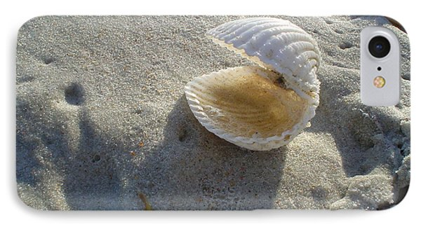 Clam Quarters IPhone Case by Cheryl Waugh Whitney