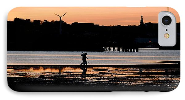 Clammers Heading Home IPhone Case by Bill Driscoll