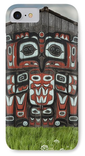 Clan House In Haines Alaska IPhone Case by Gary Warnimont