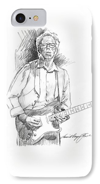 Clapton Riff IPhone Case by David Lloyd Glover
