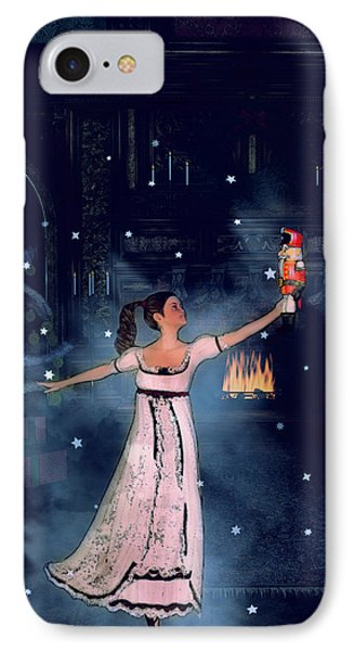 Clara And The Nutcracker IPhone Case by Methune Hively
