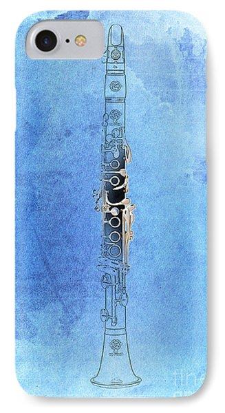 Clarinet 21 Jazz B IPhone Case