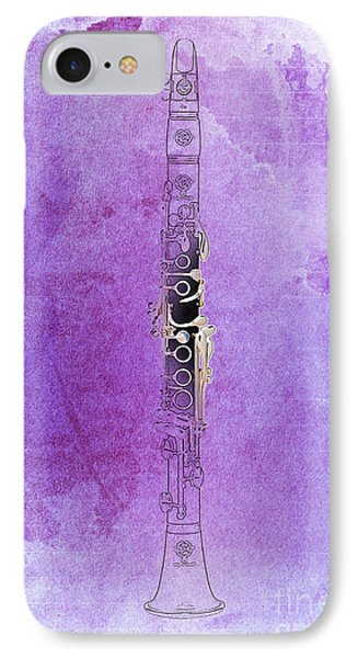 Clarinet 21 Jazz P IPhone Case
