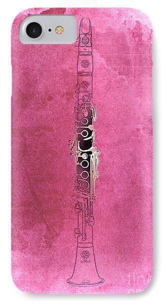 Clarinet 21 Jazz R IPhone Case