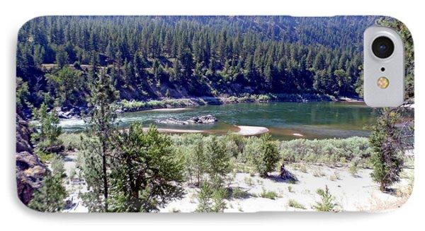 Clark Fork River Missoula Montana IPhone Case by Kay Novy